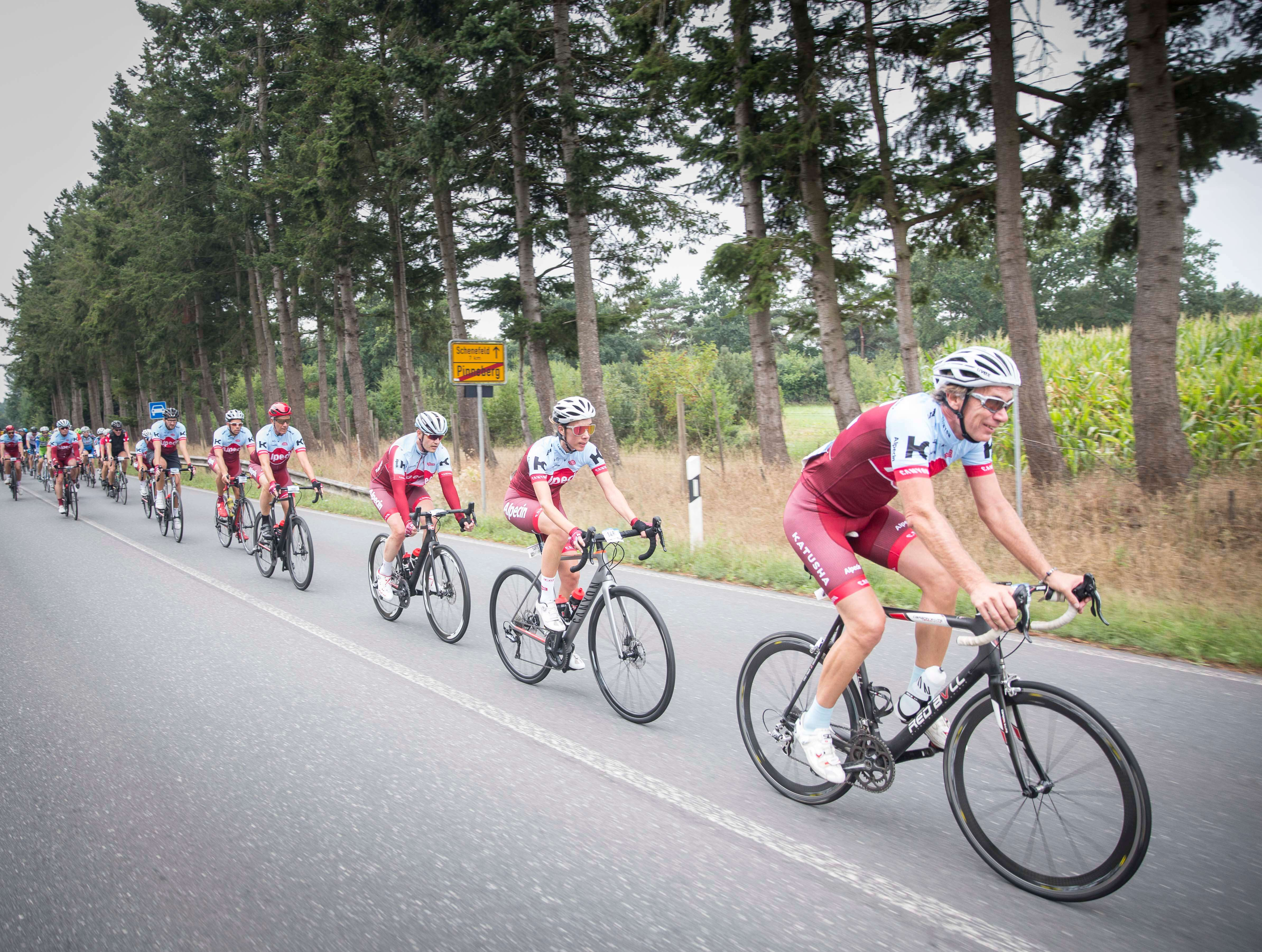 Alpecin Cycling Bei Den Cyclassics 2018 In Hamburg
