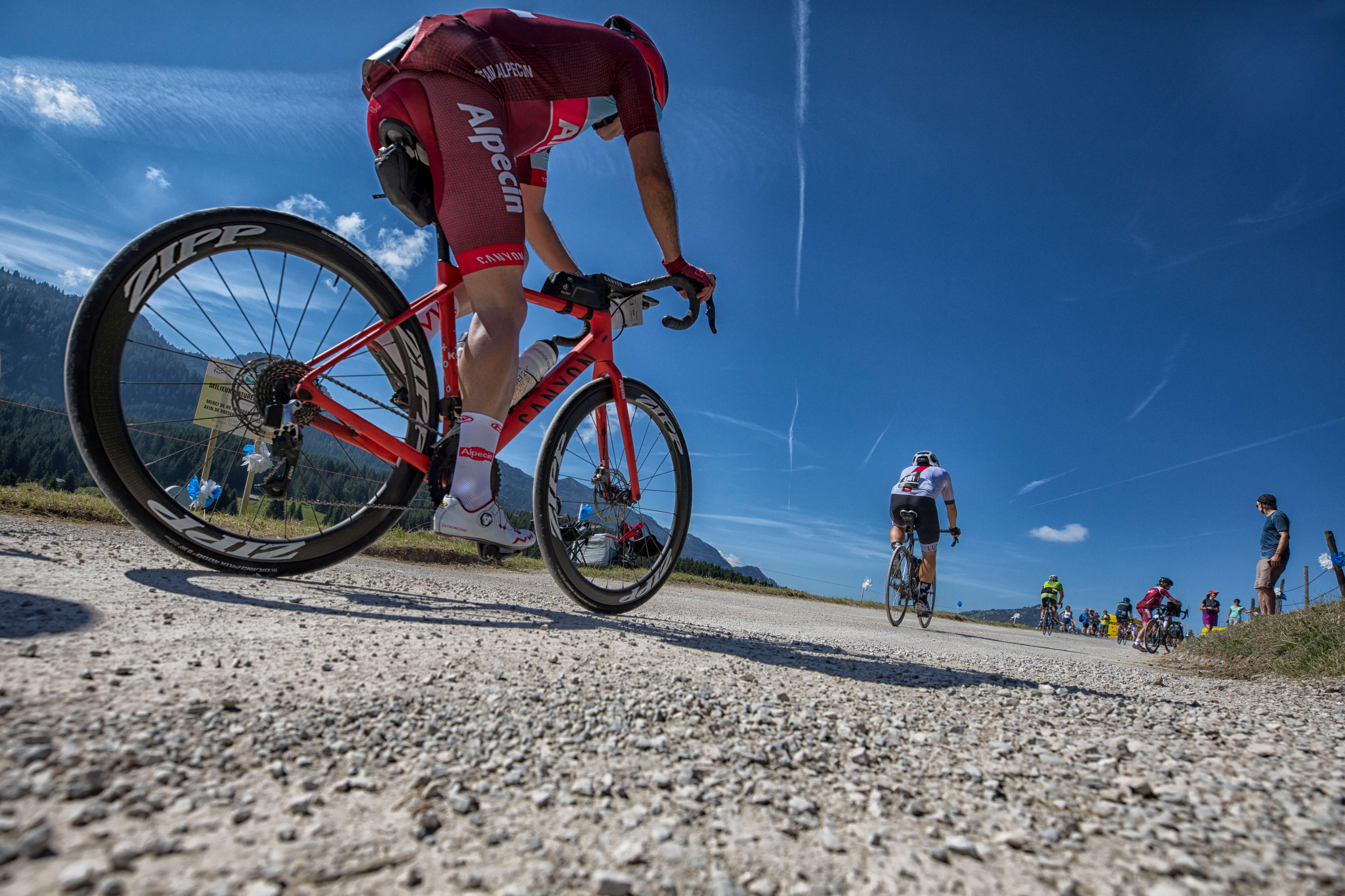 Das Team Alpecin Bei Der L'Etape Du Tour 2018