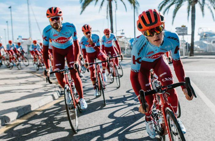 Team Katusha Alpecin startet 2019 bei der Vuelta