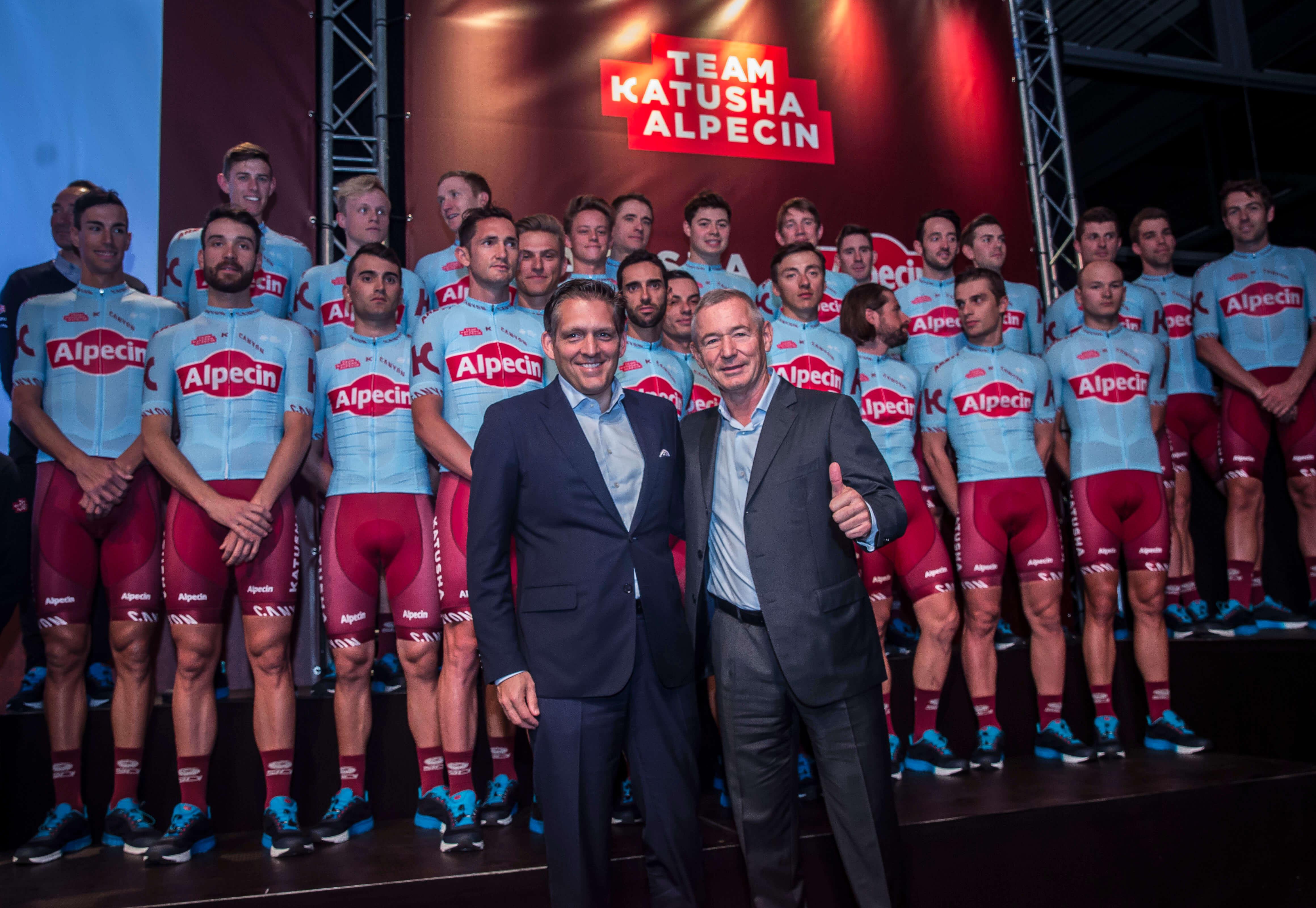 Team Presentation Of Katusha Alpecin 2019 At Canyon Headquarter