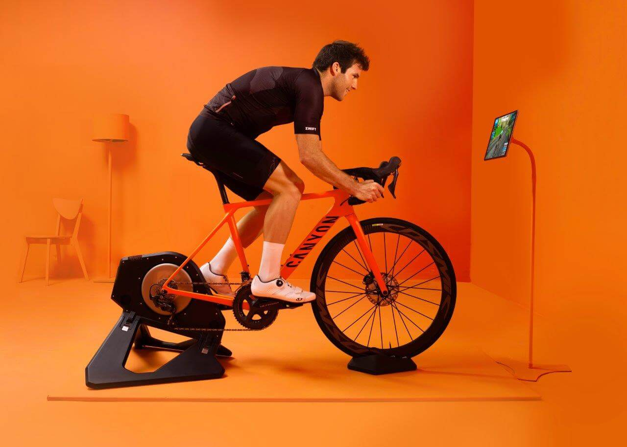 Rollentraining Workout Zwift