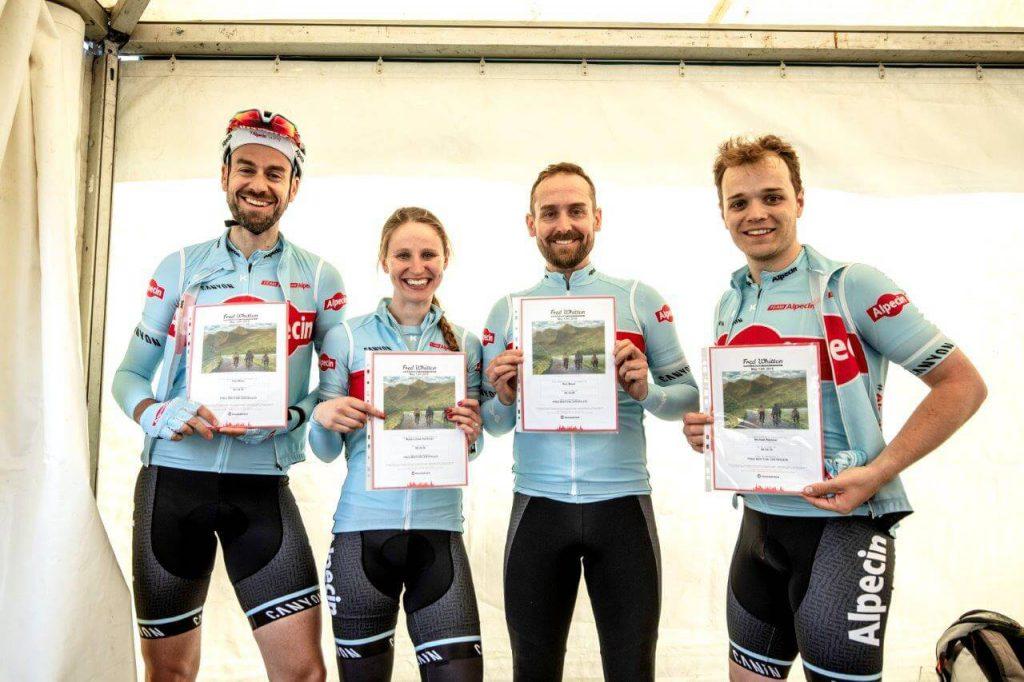 Die Fred Whitton Challenge, ein Event für Hobbyradsportler, führt durch den Lake District in Großbritannien