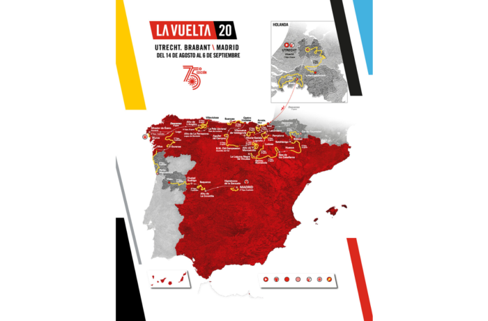 Strecke der Vuelta a Espana 2020