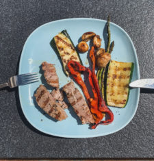Light your Barbecue Fire! Healthy Food for Road Cyclists