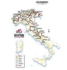 Die Strecke des Giro d'Italia 2021: Alle 21 Etappenprofile