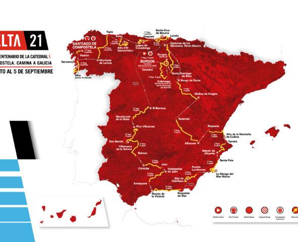 Streckencheck: Alle 21 Etappen-Profile der Vuelta a Espana 2021